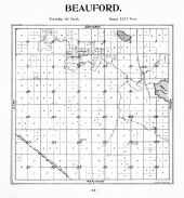 Beauford Township, Perch Lake, Blue Earth County 1895